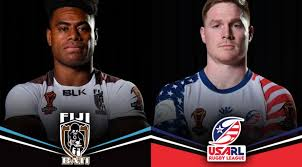 a renewed usa team beaming with home grown players will take on a battle ready fiji in townsville on saay night and the directions of both sides heading