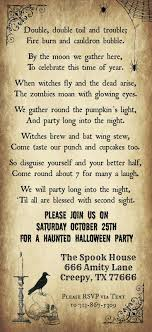 17 best images about halloween paper crafts treat print your halloween party invitations our template includes an original halloween poem