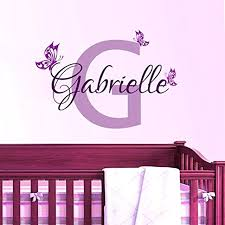>personalized wall name decals also personalized butterfly name vinyl  personalized wall name decals also personalized butterfly name vinyl wall art decal home decor wall sticker for baby girls room nursery personalised wall