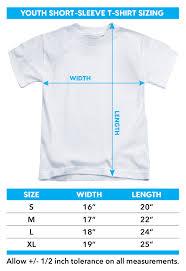 American Shirt Size Chart Batman Youth T Shirt American Flag Oval