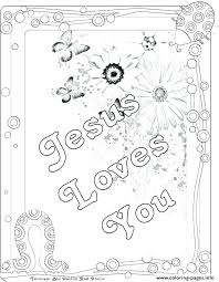 Jesus Loves Me Coloring Pages Printables Loves Me Coloring Page