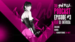The Red Roxy Podcast Episode 3 Feat. Franki Rider DJ Intruda.
