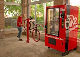 Vending Machine Repairs Inspiration Bike Fixtation The Bike Repair Vending Machine That Sells Parts Tool