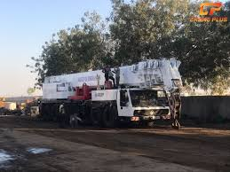 Krupp Kmk 6200 Load Chart Krupp Kmk 6200 200 Tons Crane For Hire In Gandhidham