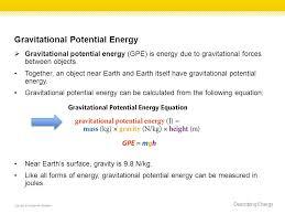 9 gravitational potential