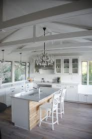black kitchen chandelier kitchen shabby chic style with shaker style tongue and groove ceiling raked