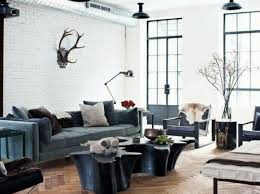 urban loft furniture. Open Plan Space Loft Like Living Room With Mismatched Furniture Urban