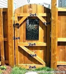 fence gate design. Wood Fence Gate Ideas Fences And Gates Privacy Garden Doors Backyard Design