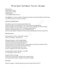 Qa Tester Resume Sample Tester Resume Sample Testing Resume Testing