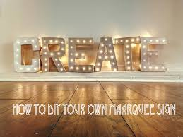 DIY \ Make Your Own Marquee Sign for your wedding! (Lauren Fair Photography  blog