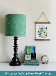 Diy Lamp How To Make A Lampshade Using Any Material You Want I Like That Lamp