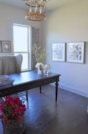 home office black desk. Home Office With Black Desk And Vintage Gray Interior Shutters ,