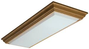 com lithonia lighting 11432re oa cambridge linear t8 flush mount ceiling light oak home improvement