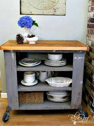 diy kitchen island cart. Delighful Diy Blue Roof Cabin Diy Industrial Kitchen Island Or Cart Whatever With  Regard To Plan  N