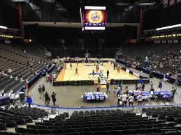 Vystar Veterans Arena Seating Chart Vystar Veterans Memorial Arena Section 109 Basketball