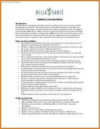Esthetician Resume Art Resume Examples