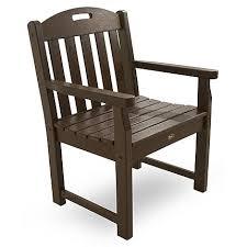 Trex Outdoor Furniture Yacht Club Garden Arm Chair Yacht Club
