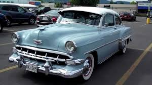 1954 Chevy BelAir - YouTube
