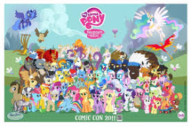 My Little Pony Personality Chart List Of My Little Pony Friendship Is Magic Characters