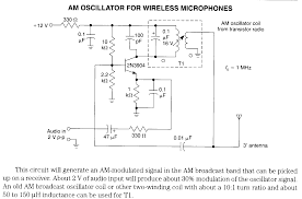 wireless microphone electronic circuits