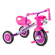 Huffy Disney Minnie Mouse Lights And Sounds Folding Trike Paw Patrol 10 In Trike Age 2 Years To 4 Years In Silver