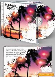 Summer Vibes Cd Cover Psd Template Free Download Free Graphic