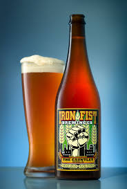 beer photo gauntlet ipa iron fist