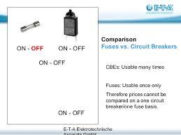 fuses vs circuit breakers Fuse Box Or Circuit Breaker comparison fuse types; 8 fuse box vs circuit breaker