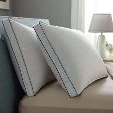 Amazon.com: Pacific Coast Double DownAround Medium 2 Pack Pillow 300 Thread  Count 550 Fill Power Down & Resilia Feathers - Queen: Home & Kitchen