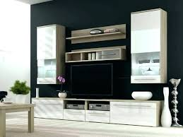built in tv wall wall unit with shelves wall units built in living room living room