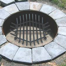 fireplace grates outdoor fire grate yourfire pit with round plans 7