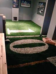 homey football field carpet for man cave tsturf on twitter what is a without real
