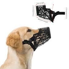 Basket Cage Dog Muzzle Size 5 Large Adjustable Straps