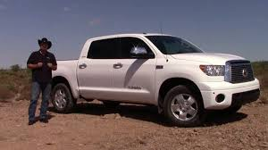 Test drive: 2013 Toyota Tundra Limited CrewMax 4x4 - YouTube