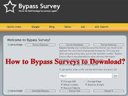Surveys Download How To Bypass Surveys To Download Files Easy Steps To Skip Surveys