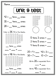 Maths Place Value Worksheets Year 4 Grade Math Multiplication And ...