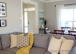 benjamin moore revere pewter living room. Perfect Moore Benjamin Moore Revere Pewter With Cream Trim Yellow And Gold Teal  Accents A Intended Living Room E