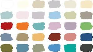 Annie Sloan Chalk Paint Color Chart The Annie Sloan Chalk Paint Color Chart