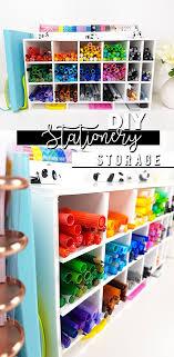 diy stationery storage