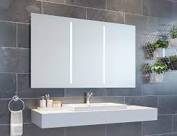 Led Lighted Bathroom Vanity Mirrors Medicine Cabinets Innovate Building Solutions