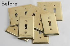 How to: Steampunk Light Switch Plates