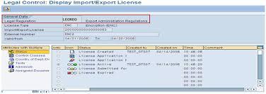 Export License Determination Sap Gts Sap Blogs