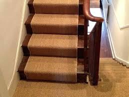 sisal carpet runners fitting on stairs top stair runner rug for