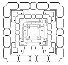 Small Picture 3d Coloring Page Coloring Home