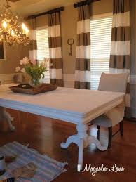 painted dining room set. dining room table--two coats of chalk paint and no wax painted set