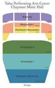Tulsa Pac Seating Chart Venues And Seating Tulsa Symphony