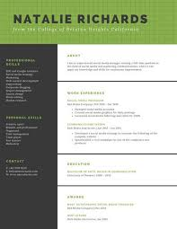 Green Checkered Background And Black College Resume Templates By Canva Impressive Resume Background