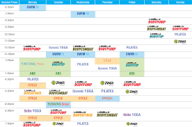 clayton group fitness timetable s2 2018
