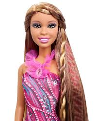 Barbie Hairstyles 55 Best BARBIE Hair Tattoos™ Doll African American