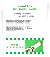 how to write a house cleaning ad free cleaning flyer templates by cleaningflyer com